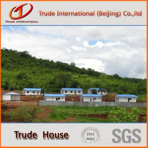 Prefabricated/Mobile/Modular Building/Prefab Sandwich Panels Low Cost Camp Family Houses pictures & photos