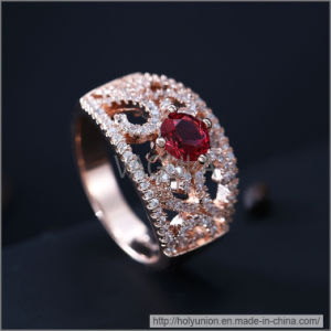 VAGULA Fashion Zircon Wedding Ring (Hlr14174) pictures & photos