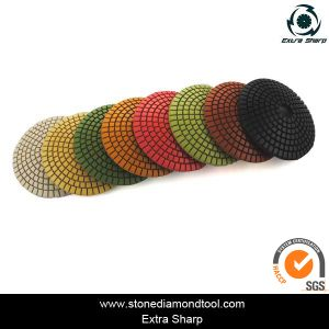 4 Inch 100mm Resin Wet Polishing Pads Convex Polishing pictures & photos