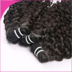 100% Human Virgin Hair Kinky Curly Peruvian Hair pictures & photos