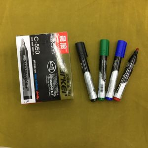 Dl-100 Cheap Permanent Marker Pen 12PCS/Box pictures & photos