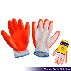Orange Nitrile Coated Work Glove