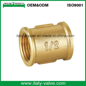 OEM&ODM Quality Brass Forged Screwed Coupling (AV9006) pictures & photos