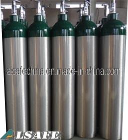Alsafe 0.3liter to 28.9liter DOT Serials Medical Oxygen Tank Pressure pictures & photos