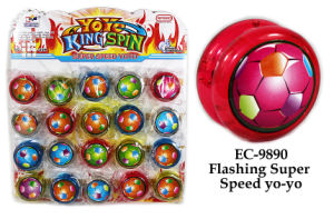 Funny Flashing Super Speed Yo-Yo Toy pictures & photos