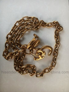 G80 Lashing Chain with Grab Hooks of Rigging Hardware pictures & photos