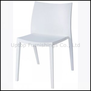 Elegance White Plastic Chair for Dining Room Wholesale (sp-uc138) pictures & photos