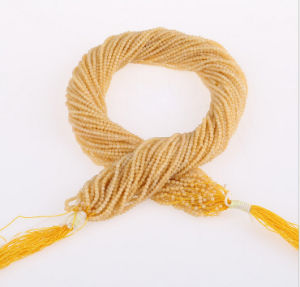 Natural Gemstone Strands Round 2mm 3mm Wholesale Yellow Jade Gemstone pictures & photos