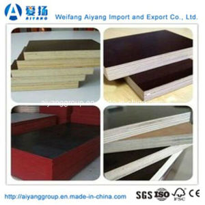 Cheap Price Brown/Black/Red Film Faced Plywood pictures & photos