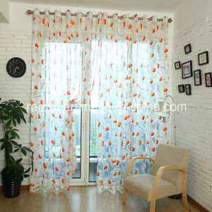 Sunflower Curtain Window Screening Customized for Export