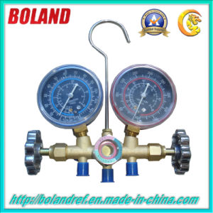 Brass with Sight Glass Manifold Gauge CT-572