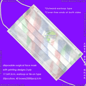 Disposable Polypropylene Doctor Face Mask pictures & photos