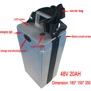 48V 20ah LiFePO4 Battery for Electric Scooter pictures & photos