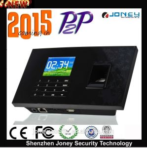 P2p Biometric Time Attendance System Fingerprint RFID Reader Model (JYF-C081) pictures & photos