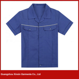 Customized Design Working Wear Clothes for Industrial Worker Safety Uniforms (W98) pictures & photos