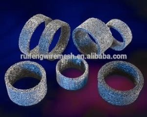 Compressed Knitted Wire Mesh (Airbag slag filter) pictures & photos