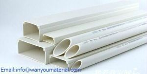 Plastic Pipe-PVC Rectangular Hollow Pipe pictures & photos