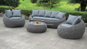 4 PCS Modern Stylish Garden Outdoor Patio Rattan Furniture pictures & photos