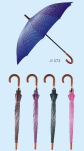 Auto Open Colorful Printing Straight Umbrella (JY-072) pictures & photos