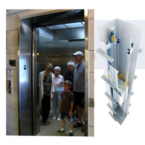 FUJI Passenger Elevator Lift for Commercial Building and Shopping Center pictures & photos
