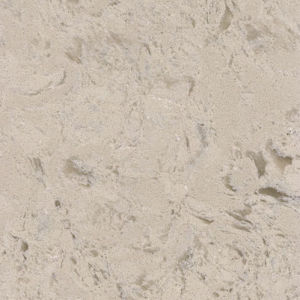 KF-405 Cream Beige Marble Color Engineered Quartz Stone