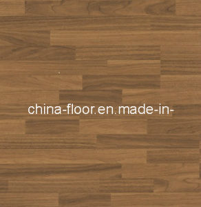 Water Resistant Three Strip Laminate Wood Flooring (Functions 9) pictures & photos