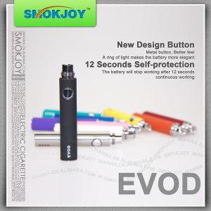 Smokjoy Hot Selling E-Cigarette Evod Battery with 650/900/1100mAh