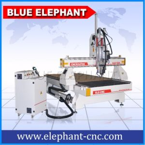 Jinan Homemade Type3 Software Multi Spindle 3D CNC Router pictures & photos