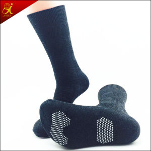 Rubber Sole Polyester Men Anti-Slip Socks