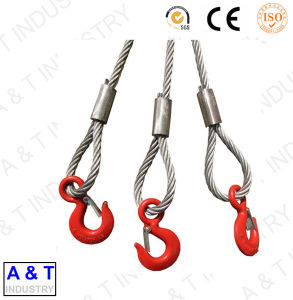 Hot Sale Alloy Eye Hooks with Safety Latch with Top Quality pictures & photos