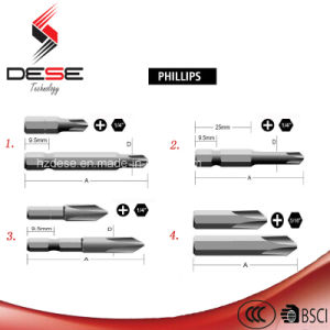 S2 or Cr-V Material Single Phillips 25mm -150mm Bits pictures & photos
