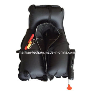 150n Black Safety Vest for Lifesaving pictures & photos