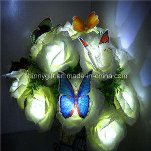 Color Changing Decorative Light LED Fiber Optic Butterfly for Christmas