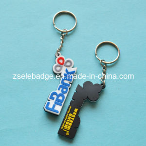 Factory Price Custom Soft Plastic PVC Keychain for Souvenir Gift pictures & photos