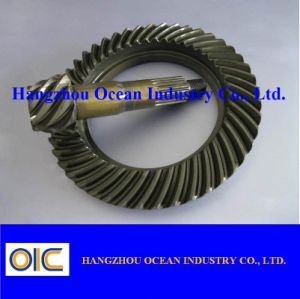 Forged Steel Bevel Gear Pinion pictures & photos