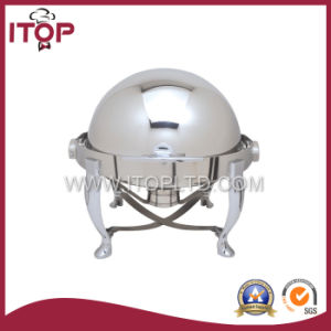 Stainless Steel Round Top Chafing Dish pictures & photos