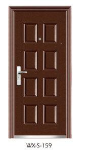 Economy Steel Door (WX-S-159) pictures & photos