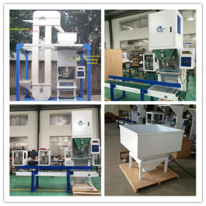 Heat Sealer 5-25kg Per Bag Wood Pellet Packing Machine pictures & photos