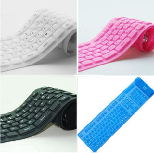 OEM Soft Silicone Flexible Keyboard pictures & photos