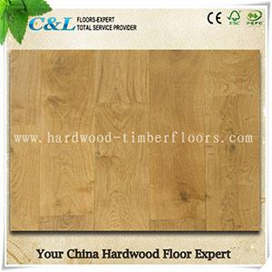 Natural Color Birch Engineered Wood Flooring