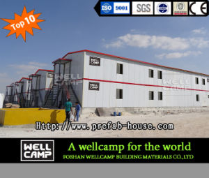 Rock Wool Sandwich Panel Modular Homes in Qatar Project pictures & photos