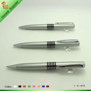 Cheap Silver Pen Twist Metal Ball Pen pictures & photos