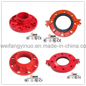 FM/UL/Ce Approval Ductile Iron Grooved Flange-1nuo Brand pictures & photos