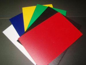 Colored PVC Board for Advertisement and Screen Printing Material pictures & photos