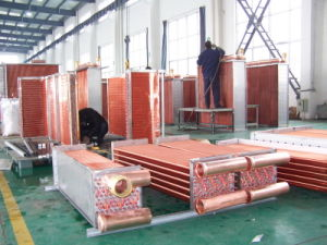 Air Cooled Copper Fin Condenser Coil for Air Conditioner pictures & photos