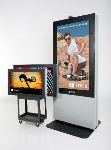 55inch Outdoor Interactive LCD pictures & photos