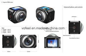 Mini Black 360 Vr Camera Factory China pictures & photos