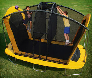 16 Ft Trampoline with Basketball Hoops pictures & photos