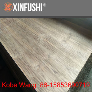 Natural Teak Veneer MDF pictures & photos