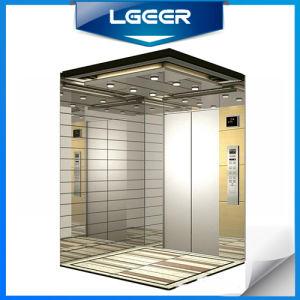 Mirror Stainless Steel Passenger Lift pictures & photos